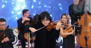 Концерт выдающегося скрипача современности Марата Бисенгалиева и солистов симфонического оркестра Алматы представлял собой презентацию компакт-диска «Номад».