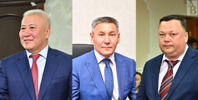 Рахат Сыдыков Амангали Бердалин Сергей Беккер