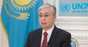 Президент Казахстана сделал ряд заявлений на политических дебатах 75-й сессии Генассамблеи ООН