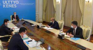 Президент Касым-Жомарт Токаев принял участие в четвертом заседании Национального совета общественного доверия