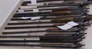 Сдавай оружие и боеприпасы