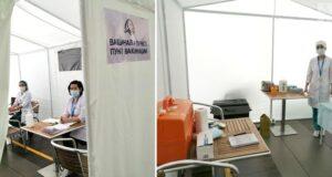 В Актобе поступила казахстанская вакцина