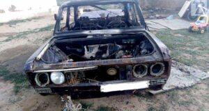 Ребенок сгорел в автомобиле