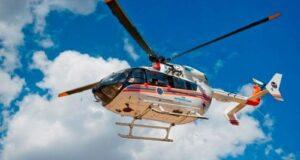 Вертолет санавиации прибыл в Уил
