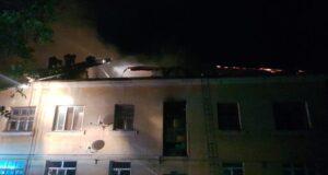 Огонь лишил крыши над головой