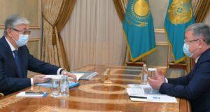 Глава государства принял акима области