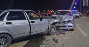 Авария из-за пьяного водителя