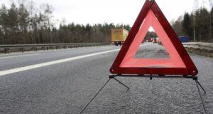Пассажир пострадал в аварии