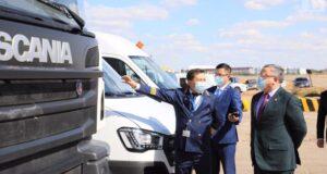 Аким области посетил международный аэропорт имени Алии Молдагуловой
