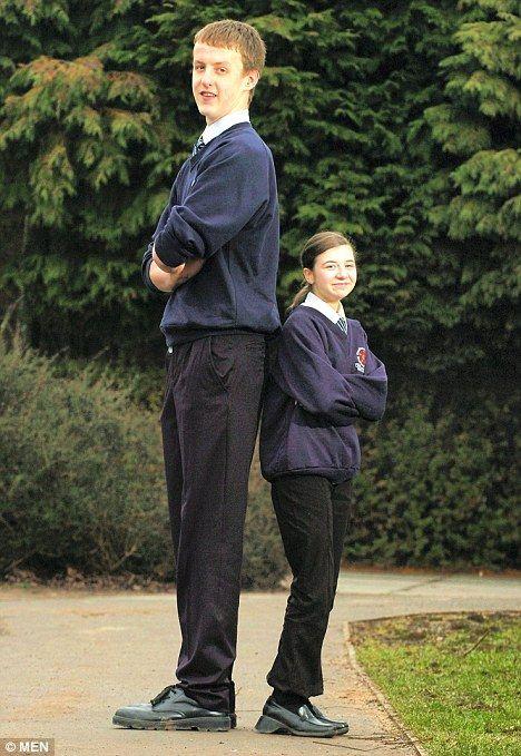высокий и низкий мужчина картинка некоторых